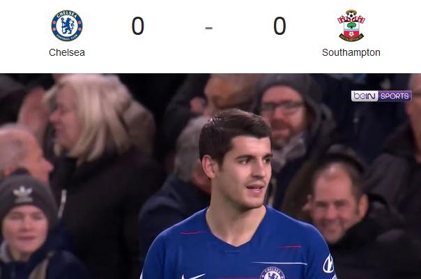 Chelsea Vs Southampton (Liga Inggris)