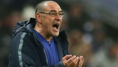 maurizio sarri on Chelsea match