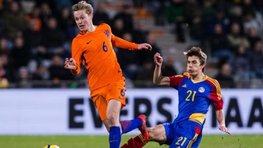 Tim Junior Belanda seri melawan Jong VS dalam game eksibisi di Spanyol