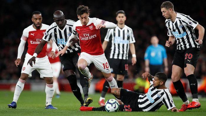 Arsenal mengalahkan Newcastle dan naik ke tempat ketiga di Liga Premier