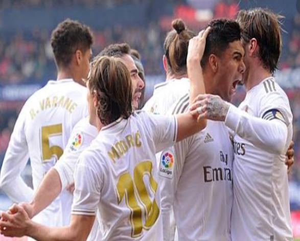 Osasuna vs Real Madrid, Los Blancos Pesta Gol di Estadio El Sadar