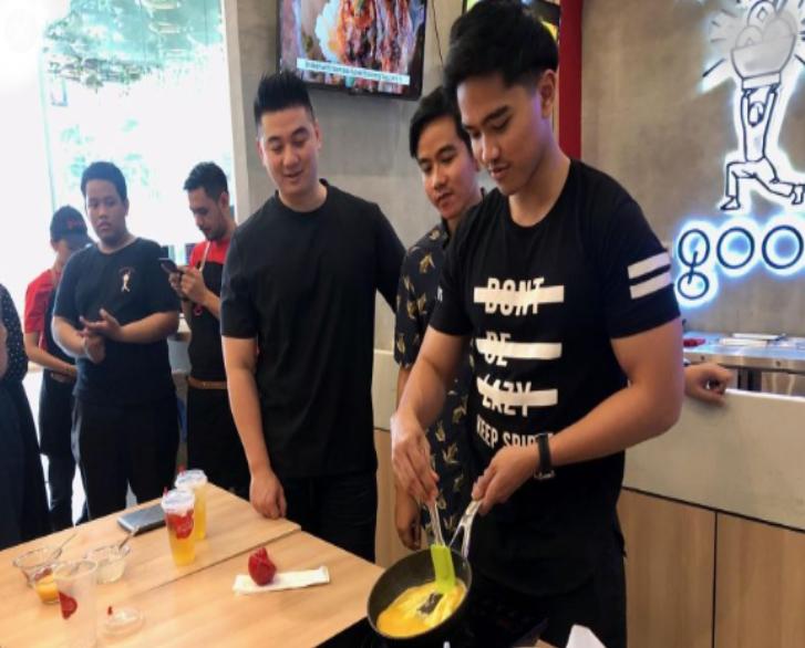 Kaesang Pangarep Ditantang Chef Arnold Buat Telur Dadar